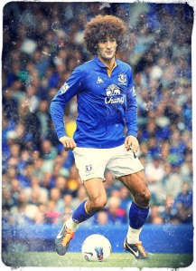 Marouane Fellaini Everton