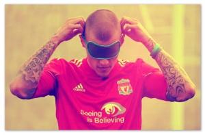 Martin Skrtel Liverpool Blindfold Defender