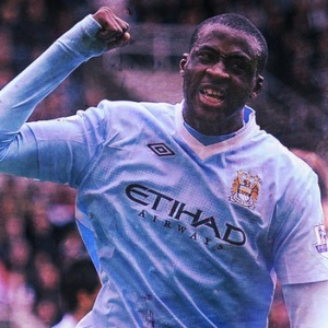 Yaya Toure Man City Ivory Coast